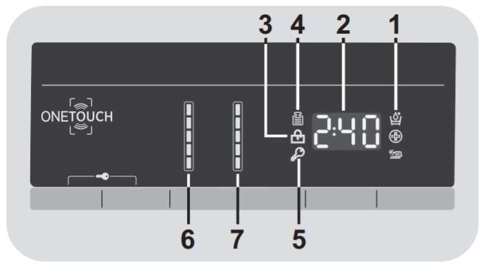 display DXOA 510AC3 hoover