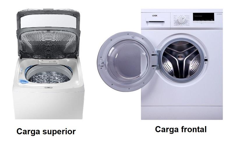 Lavadoras de carga superior y carga frontal