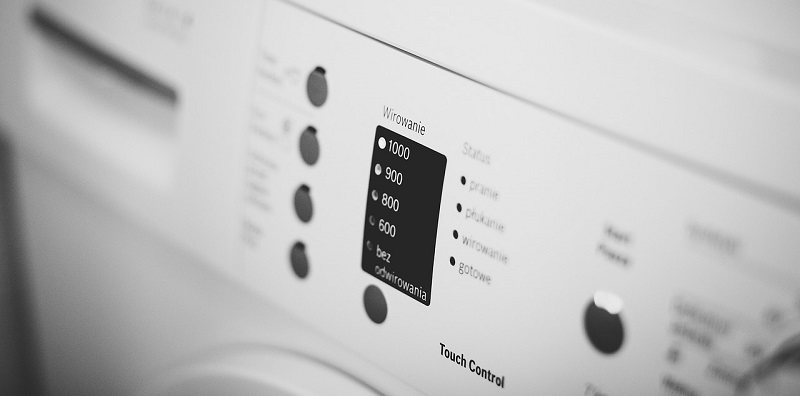 panel programas lavadora como funciona